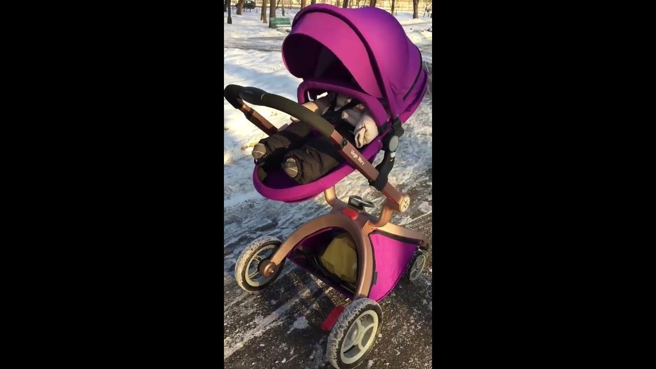 Коляска Hot mom 2в1/3в1 обзор, в наличии в Москве - YouTube