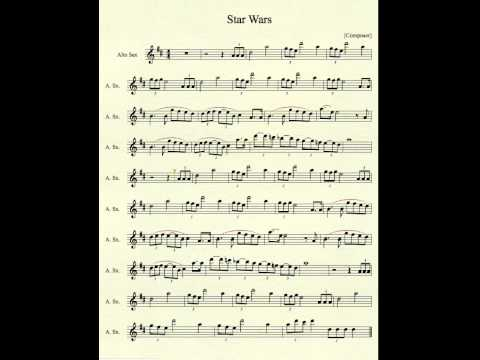 Star Wars for Alto Sax