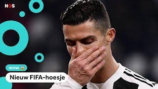 Cristiano Ronaldo niet meer op hoesje van FIFA 19