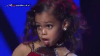 Вот это танец. Детки зажигают. Asia Monet Ray on Miracle Korea