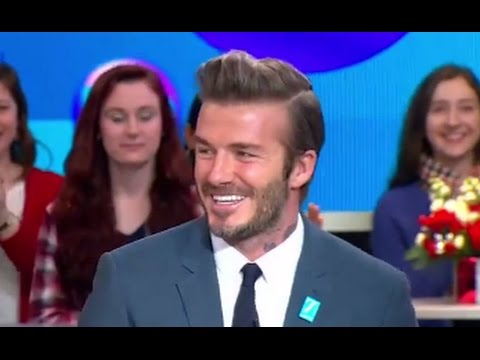David Beckham Interview on UNICEF Project