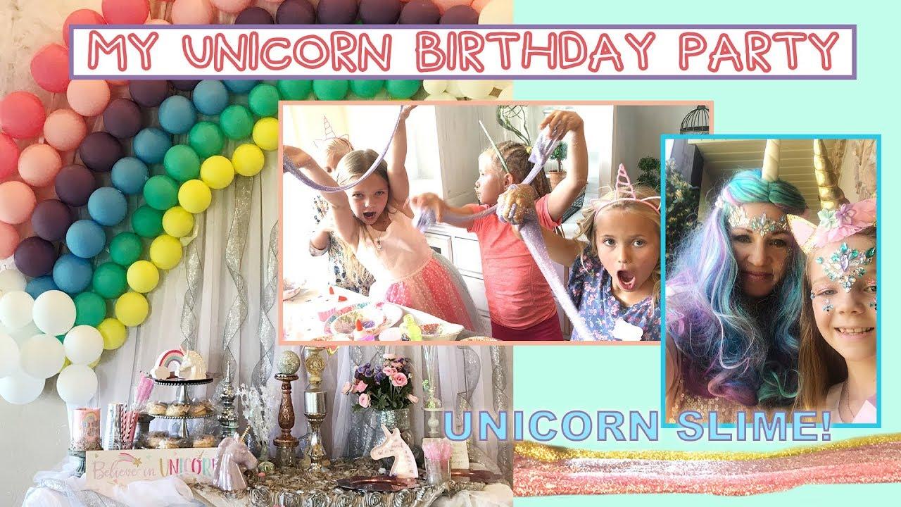 Unicorn Party Table Ideas