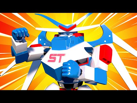 The Giant Robot Truck  - Carl The Super Truck - Car City ! Cars And Trucks Cartoon For Kids