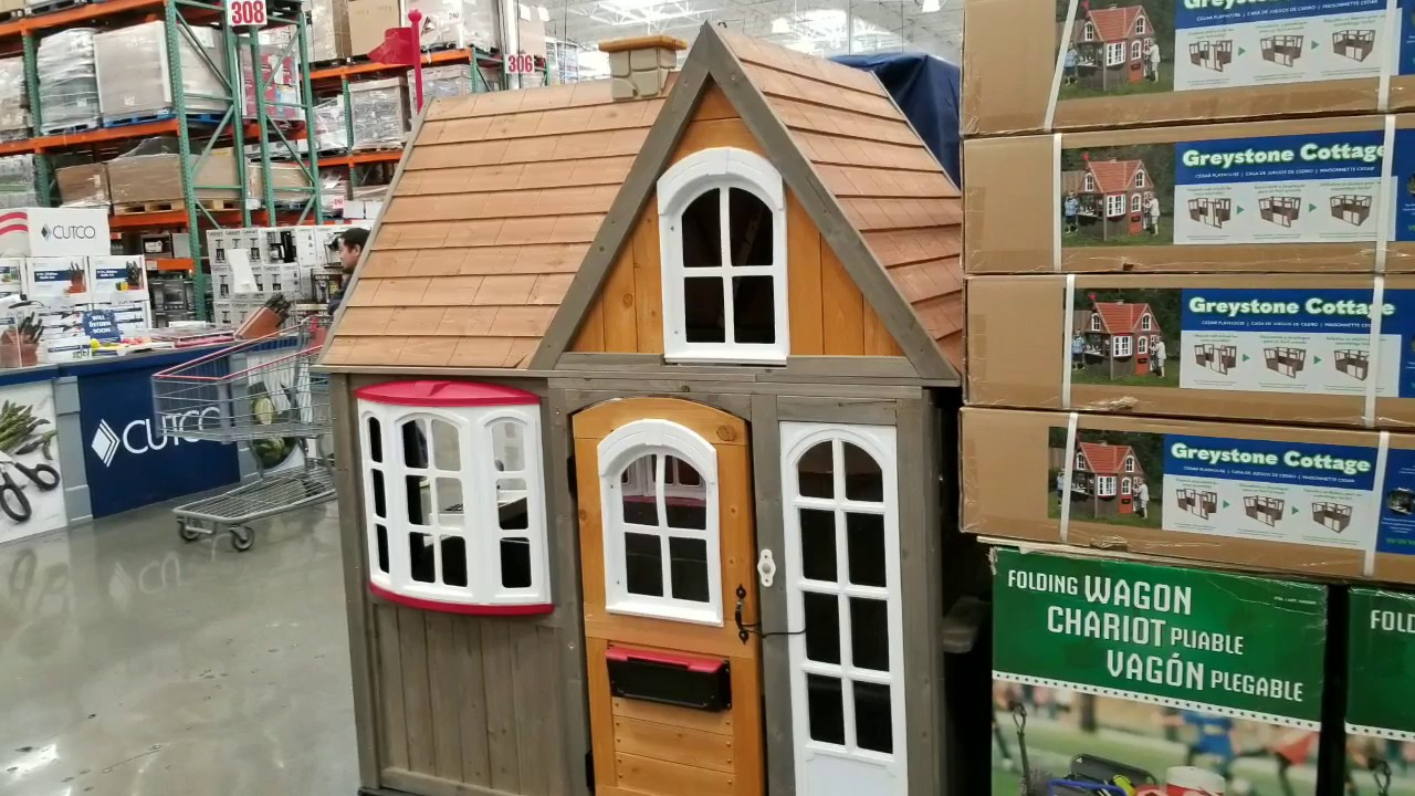 Greystone Cottage Cedar Play House