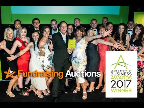 Fundraising Auctions Win Award at the Lewes District Business Awards!