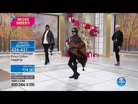 HSN | Clever Carriage Company Fashions & Accessories 10.18.2017 - 11 PM