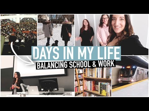 DAYS IN MY LIFE | HOW I BALANCE UNIVERSITY, WORK & SOCIAL LIFE