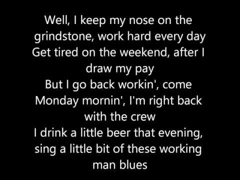 Merle Haggard - Workin' Man Blues (Lyrics)