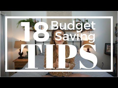 18 BUDGET SAVING Tips