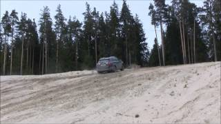 rav4 vs ix35 offroad diesel power