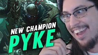 Imaqtpie - NEW CHAMPION PYKE REVIEW