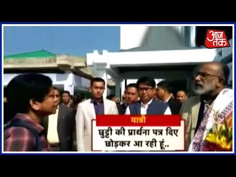 India 360: Woman Doctor Blasts At Union Minister After Flight Delay