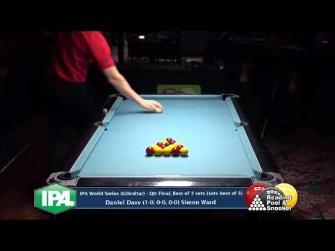 IPA World Series (Gibraltar) - D.Davy v S.Ward