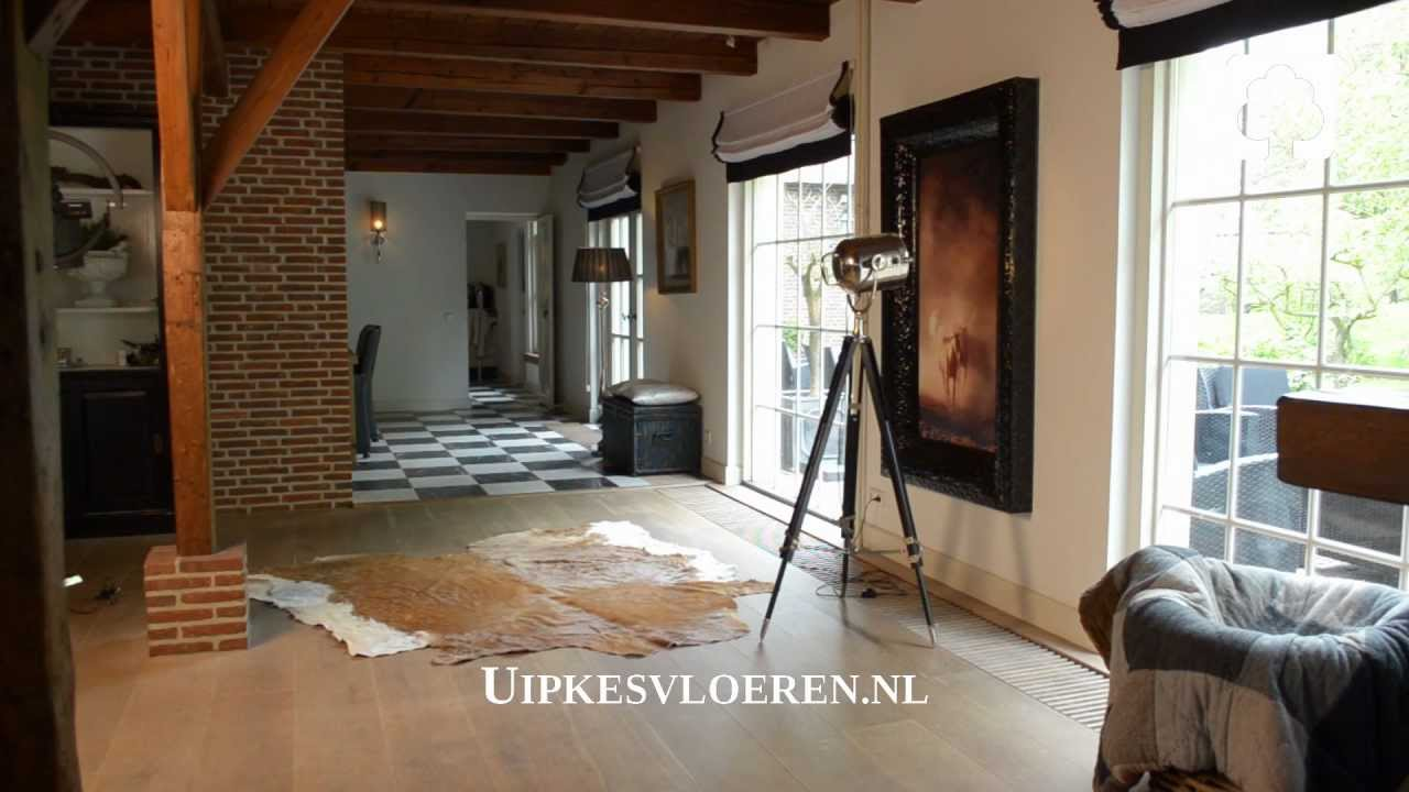 Houten vloer vloerverwarming haarlem uipkes houten vloeren youtube