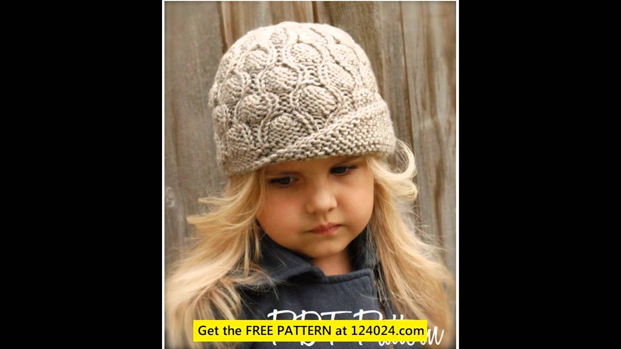 knit viking hat knitted animal hats cable hat knitting pattern - YouTube