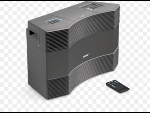 Quick Overview of Bose Acoustic Wave Music System ii