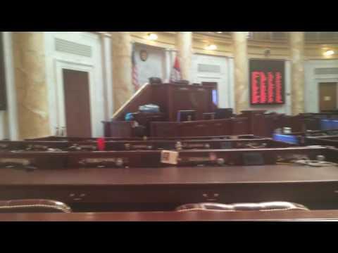 Arkansas House Chamber, Little Rock Arkansas