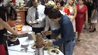 Шоколадный свадебный фонтан.(, 2013-03-27T18:33:46.000Z)