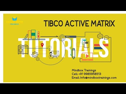 Tibco ActiveMatrix Online Training Session 1|MindBox Training Online