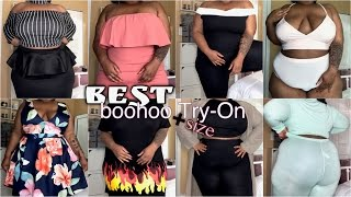 BEST boohoo Try-On Haul!!! | Plus Size | Spring/Summer 2017