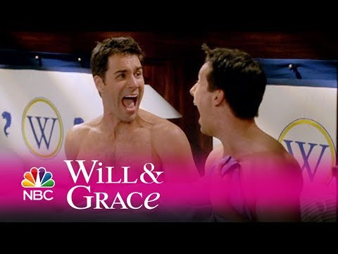 Will & Grace - Did Will and Jack Hook Up? (Highlight)