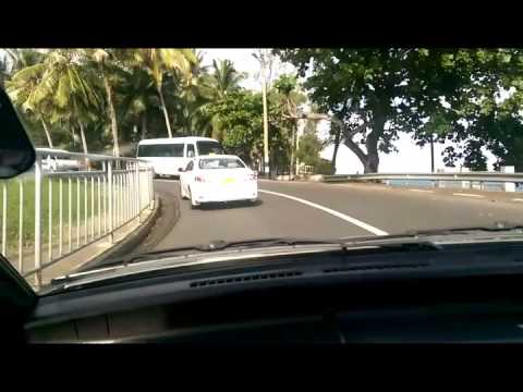 Time Lapse Road Trip To Le Morne Mauritius