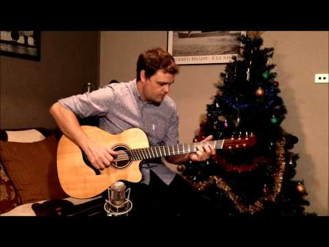 Christmas Song Guitar Lesson - Little Drummer Boy #1 - Adam Miller