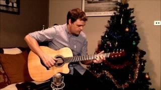 Christmas Song Guitar Lesson - Little Drummer Boy #1 - Adam Miller