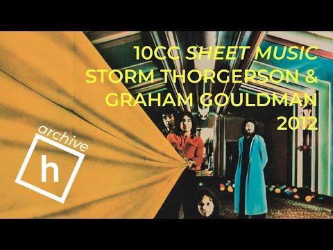 Graham Gouldman and Storm Thorgerson on 10cc Sheet Music