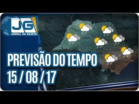 Previsão do Tempo - 15/08/2017