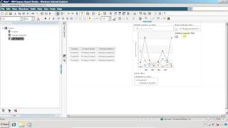 cognos report studio show graph on every page