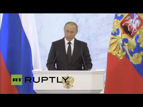 Putin: Russia will focus on organic food production, export  - SOTNA2015