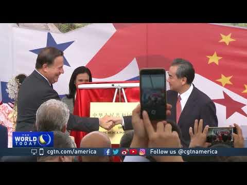 China opens embassy in Panama, establishing full relations
