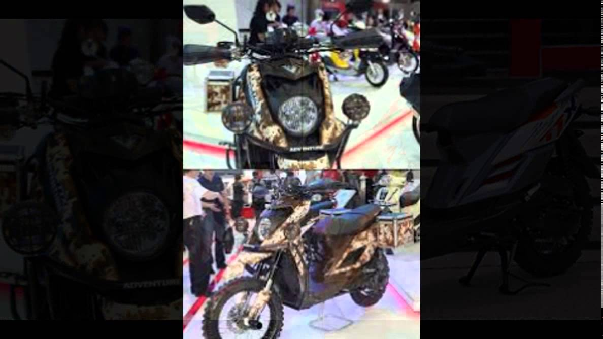 Modifikasi motor motorplus modif trail 39 39 offroud yamaha ttx for Yamaha ttx adventure scooter for sale