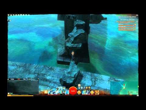 GW2 Exploration - Drowned Brine Vista, Malchor's Leap