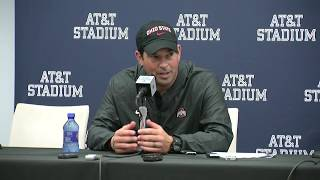 Ryan Day talks about Ohio State's win over TCU
