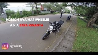 #6 Riding + review pake motornya Mr. Wheelie Ducati Monster 696. EARGASM! | MT - 09