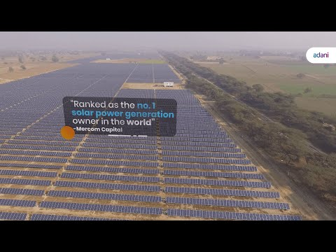 Adani Green Energy | Ranked No. 1 Solar Power Generation Owner by Mercom Capital Group