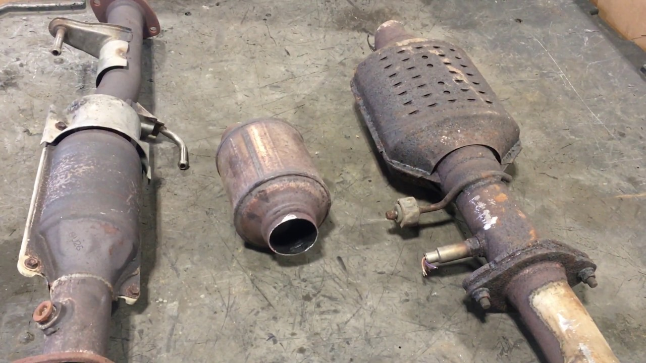 Catalytic Converter Scrap Price >> Identifying Scrap Catalytic Converters Toyota Gm