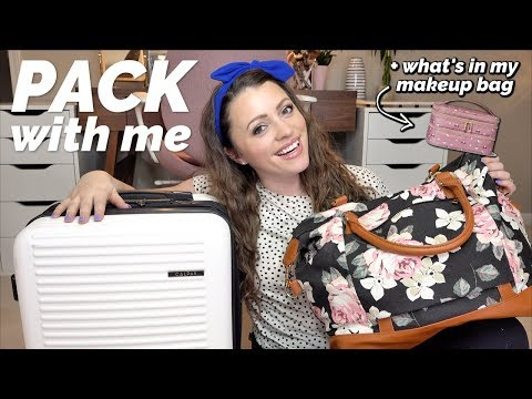 PACK WITH ME + My Fave AMAZON Travel Products
