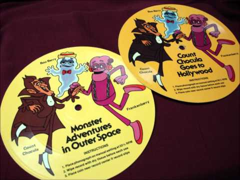 1979 Monster Cereal Record - Count Chocula Goes To Hollywood