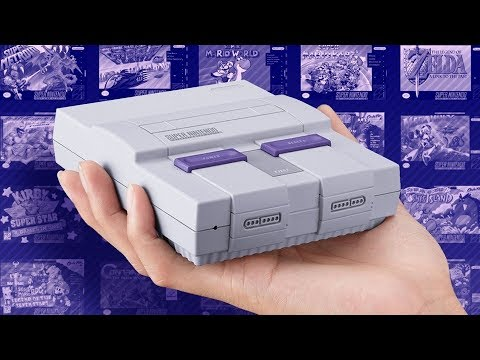 Snes Classic Edition Nintendos 2017 Retro Console Youtube