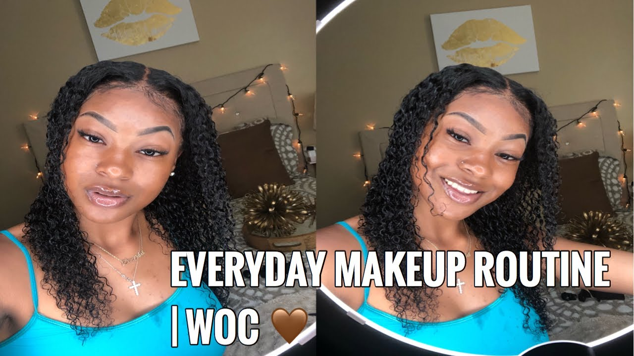 EVERYDAY MAKEUP ROUTINE | WOC | DIOR AVA