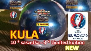 NOWOŚĆ - KULA EURO 2016 - Limited Edition - Karty Panini - Adrenalyn xl