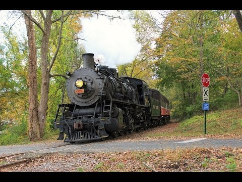 Chasing the Providence & Worcester Two Rivers Steam Excursion