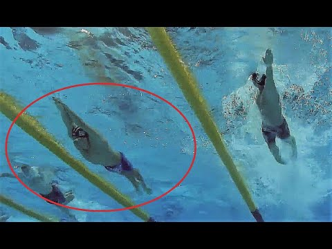 3 Impossible Underwaters by Michael Phelps.