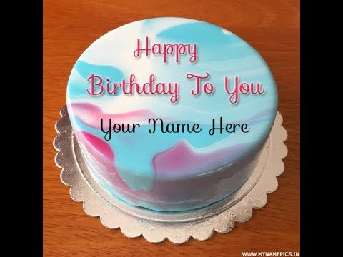Create Birthday Cake Image With Name ️write Name On