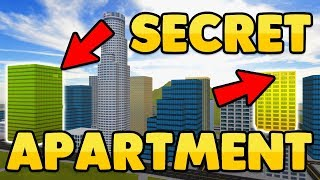 ROBLOX VEHICLE SIMULATOR SECRET APARTMENTS EASTER EGG!! (New Update!?)