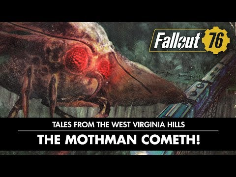 Fallout 76 – Tales from The West Virginia Hills: The Mothman Cometh! Video thumbnail