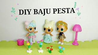 Baju Pesta By LOL Surprise Bon Bon - Cerita Pendek Mainan Lucu - Drama Edukasi Menjahit Mudah